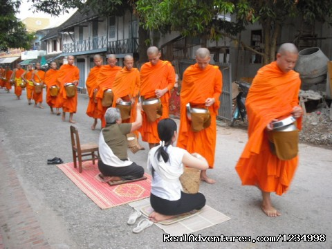 Tours in Luang Phrabang and related areas
