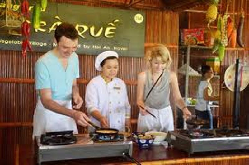 Cooking Class At Tra Que Village