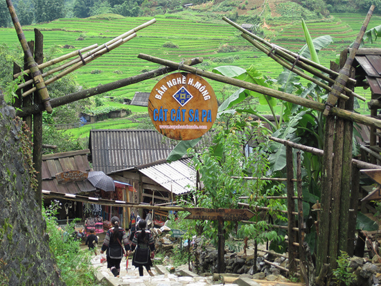 Sapa - Cat Cat village - Lao Chai village - Ta Van village tour 2D1N by bus