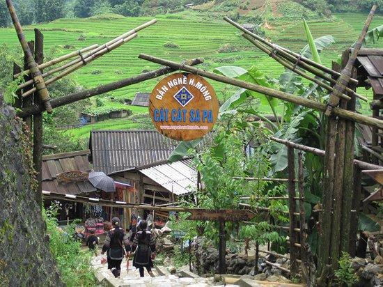 Sapa - Cat Cat village - Lao Chai village - Ta Van village tour 2D1N by bus